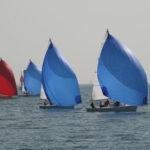 Régate de voiliers avec foc bleu, analogie du management
