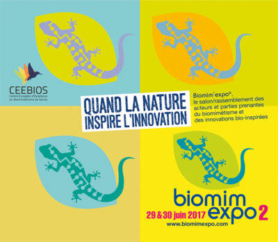 Biomim'expo le salon du biomimétisme